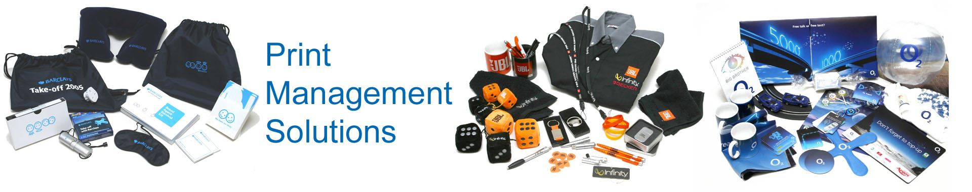 Print Management - Globally Sourced Promotional Products